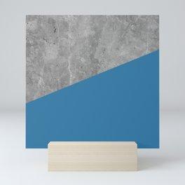 Geometry 101 Saltwater Taffy Teal Mini Art Print
