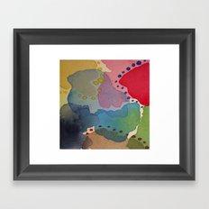 Abstract Mini #13 Framed Art Print