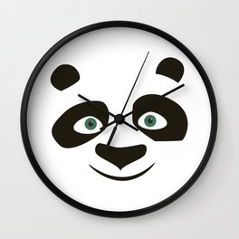 Kung Fu Panda Wall Clock