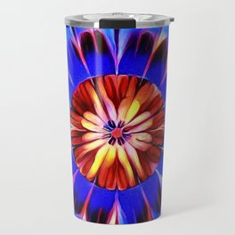 Feather Flower Travel Mug