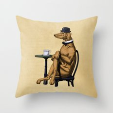 Dog Day Afternoon Throw Pillow