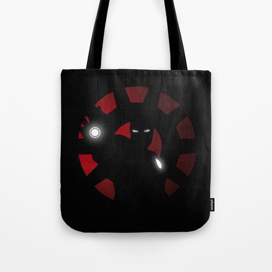 SuperHeroes Shadows : Iron Man Tote Bag