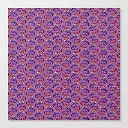 Sirenas - Lilac - Beautiful Bones Canvas Print
