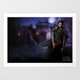 Court of Shadows Art Print