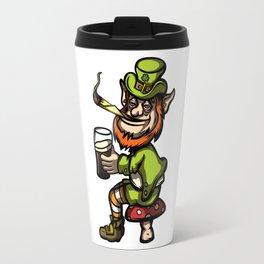 Wasted Leprechaun Travel Mug