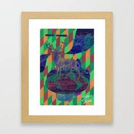 Sahara algerien Framed Art Print