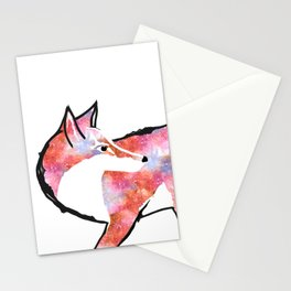 Fox for Fire  Stationery Cards
