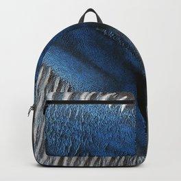 Particular Blue Dune on Mars Backpack