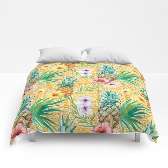Tropical Summer #11 Comforters
