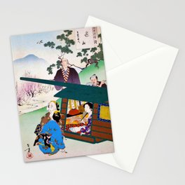 Mizuno Toshikata - Top Quality Art - Picnic Stationery Cards