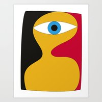 serge-pichii-some-guy-0086 Art Print