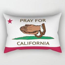 Pray for Cali  Rectangular Pillow
