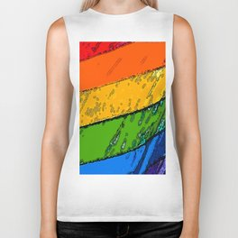 Equality Colors Biker Tank