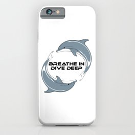 Dolphins iPhone Case