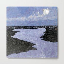 """""""Wolf Lake"""" Metal Print"""