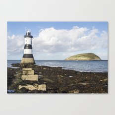 Penmon Lighthouse 5 Canvas Print