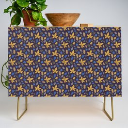 Fall pattern Credenza