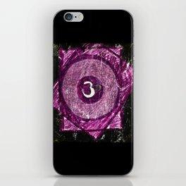 Sahasrara iPhone Skin