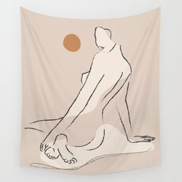 Nude 2 Wall Tapestry