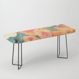 Aloha Orange Sherbet Bench
