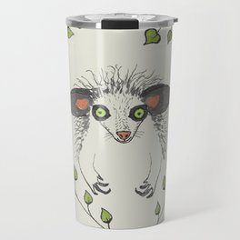 Aye-Aye Portrait Travel Mug