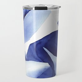 Royal Blue Palms no.1 Travel Mug