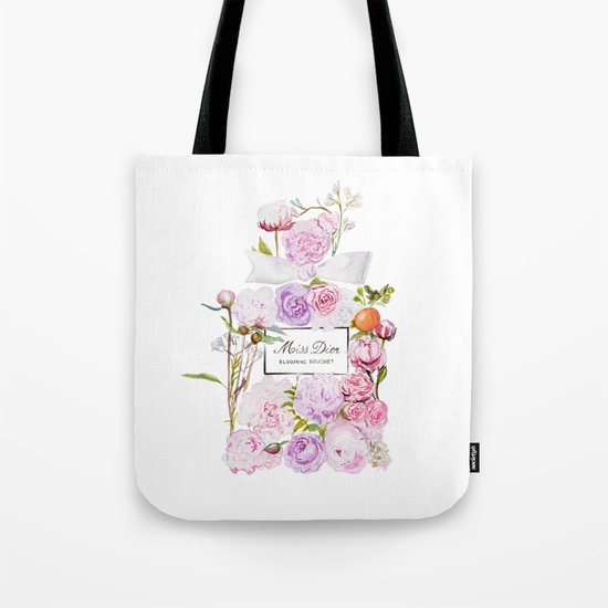 Parfum Blooming Bouquet Tote Bag
