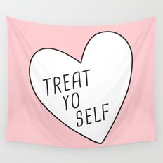 Treat Yo Self Wall Tapestry