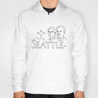 seattle Hoodies featuring Seattle by elle stone