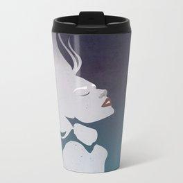 Floatinf Face Metal Travel Mug