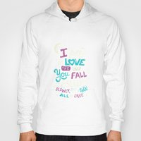 tfios Hoodies featuring Fell in love by Risa Rodil