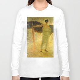 Handsome Golden Angel Long Sleeve T-shirt