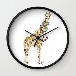 Festival Giraffe Wall Clock