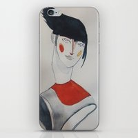 prince iPhone & iPod Skins featuring Prince by Beste Taş