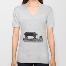 Ferdinand Ernecke Berlin SW 46 Antique machine from One Hundred Years In Word And Picture A Cultural Unisex V-Neck