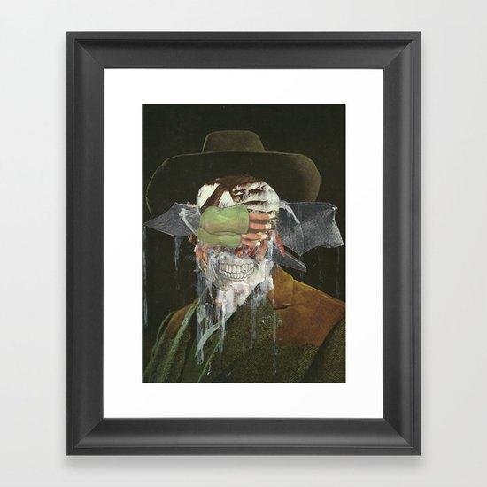 Leave me no choice but to plot my revenge  Framed Art Print
