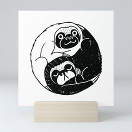 The Tao of Sloths Mini Art Print
