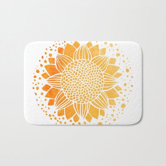 Sun Mandala Bath Mat