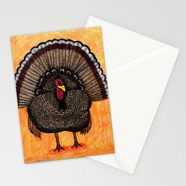 Tough Turkey Stationery Cards