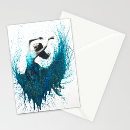 Ocean Gem Dance Stationery Cards