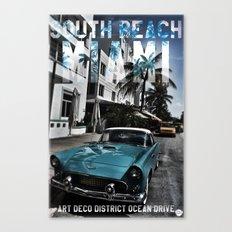 SOUTH BEACH Canvas Print