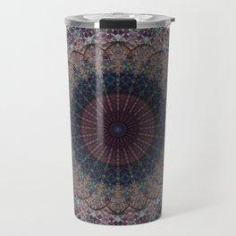 Modern Mandala art Travel Mug