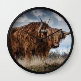Highlander 1 Wall Clock