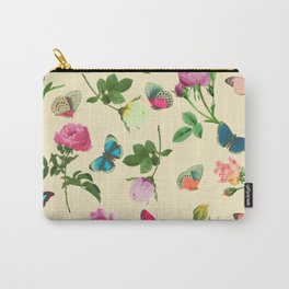 Las Rosas & Mariposas II Carry-All Pouch