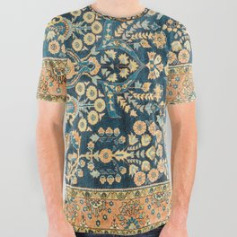 Sarouk  Antique West Persian Rug Print All Over Graphic Tee
