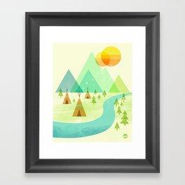 Native Lands Framed Art Print
