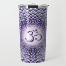 Sahasrara Chakra - Crown Chakra I - Series II Travel Mug