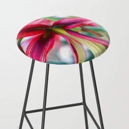 Flowers of Pink Bar Stool