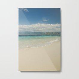 Gili meno island beach Metal Print