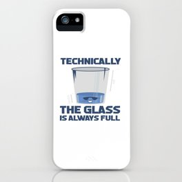Funny Sayings Science Physics Student Teacher Gift iPhone Case